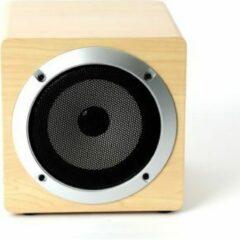 Omega OG60W draagbare luidspreker 5 W Mono portable speaker Bruin, Hout