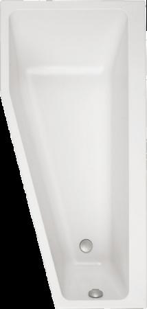 Afbeelding van Witte Villeroy & Boch Villeroy en Boch Subway bad acryl offset links 170x80cm wit uba178sub3liv01