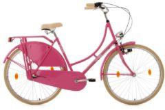 Rosa KS Cycling Hollandrad, 28 Zoll, pink, 3-Gang-Shimano-Nexus-Nabenschaltung, »Tussaud«