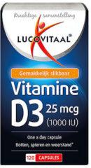 Lucovitaal ComfortTrends Vitamine Voedingssupplementen Vitaminepillen D3 - 120 capsules