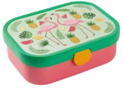 Groene Rosti Mepal Lunchbox - Voor kinderen - Tropische Flamingo