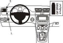 Zwarte Brodit ProClip VW Passat Bj. 05-14 / Alltrack Bj. 12-15 / CC Bj. 09-17