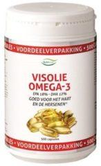 Nutrivian Visolie Omega 3 Voordeelverpakking Capsules 500st