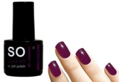 Paarse So! Soak Off - Gel nagellak - Violent Violet - 8ml