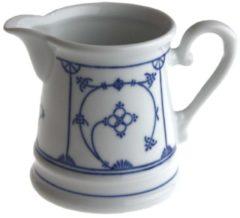 Milchkännchen Blau Saks Kahla Weiß