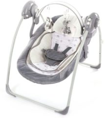 Grijze Bo Jungle B-Portable Babyswing - Babyschommel Night Starts