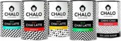 CHALO Chai Latte - Indian Chai Starterkit - Zwarte Assam thee - 5 smaken heerlijke Indische thee x 300GR