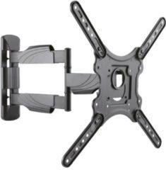 Zwarte Cavus WME102 TV Muurbeugel - Full motion ophangbeugel voor 23 - 55 Inch max 35 kg - Universele VESA TV muursteun