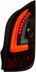 Universeel Set LED Achterlichten Volkswagen Up! & Skoda Citigo 2011- - Zwart/Smoke/Goud