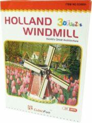 CubicFun 3D Puzzel Holland Molen 20Dlg.