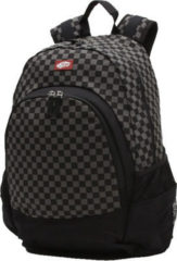 Zwarte Vans Van Doren Backpack black / charcoal