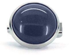 Qoss Broche Jeansblauwe Steen - 12mm