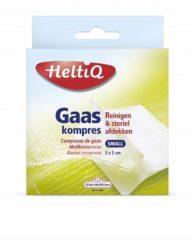 Witte Heltiq Gaaskompressen - 5 x 5 cm - 16 stuks - Gaasjes