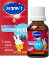 Dagravit Kids Vitamine K+D 0 - 3 maanden - 25 ml - Druppels - Vitaminen