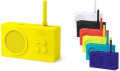 Lexon TYKHO 2 RADIO 2, mit Akku, spritzwasserfest, verschiedene Farben Farbe: Gelb