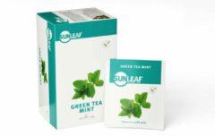 Sunleaf - groen Tea Mint - 2gr - 80 stuks