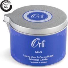 Orli Massagekaars Man - 100% Vegan, biologisch en proefdiervrij