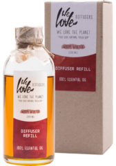 We Love the Planet Huisparfum Geurstokjes Warm Winter (Navulfles - 200 ml)