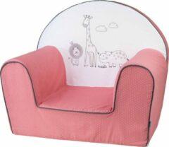 Bubaba Kinderfauteuil - Peuterstoeltje - Kinderzetel Safari Roze