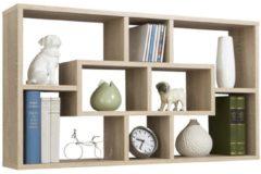 FD Furniture Open Wandrek Lasse 85 cm breed - Eiken