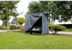 Grijze Nature beschermhoes voor schommelbank - 170x255x143 cm