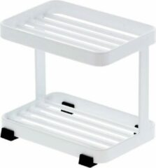 Witte Yamazaki - Soap tray 2 tiers white