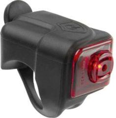 M-Wave Achterlicht HELIOS K1.1 USB LED werkt op een accu Zwart