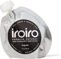 Zwarte Iroiro Semi Verf 10 Black 236ml