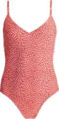 Barts - Women's Bathers Suit - Badpak maat 36, rood/beige