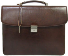 "Claudio Ferrici Legacy Briefcase 13.3"" brown"