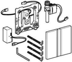Geberit HyTronic bedieningplaat met frontbediening voor toilet/urinoir 13x13cm chroom 116.026.GH.1