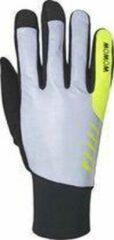 Gele WOWOW nightstroke - Reflecterende handschoenen -S