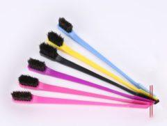 Fuchsia Edge Brush 2in1/ babyhaar styler