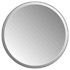Zilveren Plieger Charleston 4mm ronde spiegel met facetrand O 40cm zilver 4350107