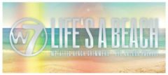 Beige W7 Make-Up Life's A Beach Eyeshadow Palette