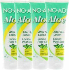 NO-AD Aloë Vera After Sun Lotion - 250 ml - 4 pak