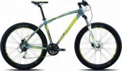 27,5+ Legnano Duran Hardtail Mountainbike 24... 44cm, matt-dunkelgrau-gelb