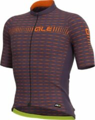 Alé ALE Men Short Sleeve Jersey groen Road Plum-Orange XL