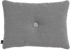 Donkergrijze Hay Dot sierkussen 45 x 60 cm