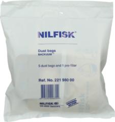 Nilfisk Backcuum Staubsaugerbeutel 22198000