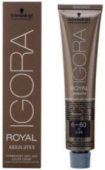 Rode Schwarzkopf Igora Royal Absolutes 6-60 - 60 ml - Haarkleuring