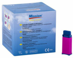 Mission Plus Cholesterolmeter 3-in-1 Lancet (25st)