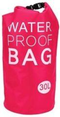 Merkloos / Sans marque Roze waterdichte tas 30 liter