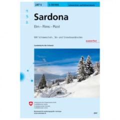 Swisstopo - 247 S Sardona - Skitourgidsen Ausgabe 2017