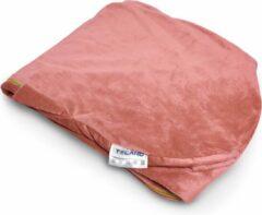 Telano® Velvet Zwangerschapskussen Hoes XXL Roze met GOUDEN Rits | 145 x 80cm|High Quality Zachte Velvet|Voedingskussen Hoes