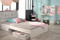 Parisot Bed Alma 140x190cm - wit