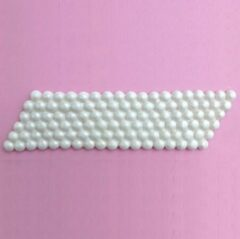 Witte Karen Davies Siliconen Mould - Pearl Band