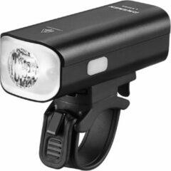 Zwarte Ravemen LR500S USB Rechargeable Curved Lens Front Light wi - Voorlampen