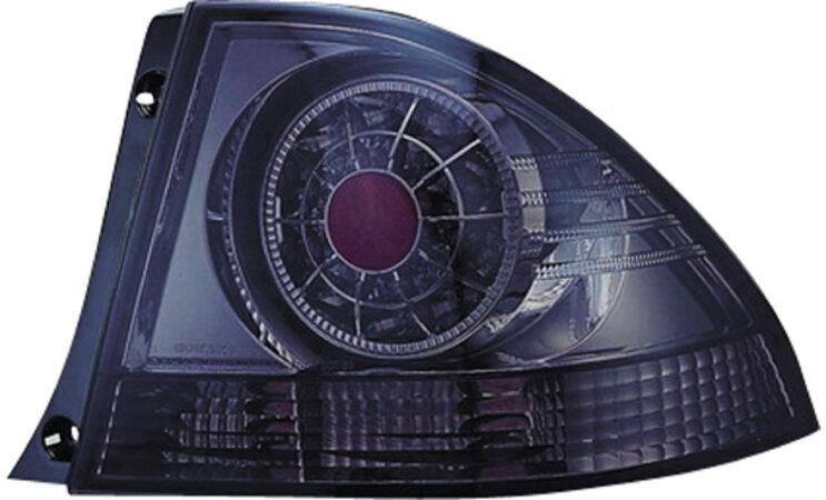 Afbeelding van Universeel Set LED Achterlichten Lexus IS200 1998-2005 - Smoke