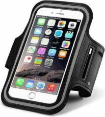 SMH Royal - Geschikt voor Apple iPhone 6 / 6s 4,7'' Zwart Sportband Sportarmband Hardloop Sport Armband